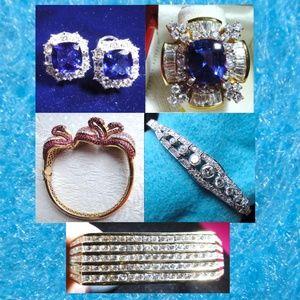 Tanzanite, Diamonds, & More Fab Jewelry over $7500